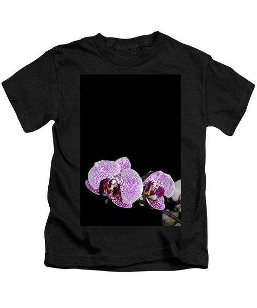 Orchid Blooms Kids T-Shirt