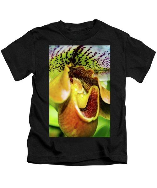 Orchid Faces Kids T-Shirt