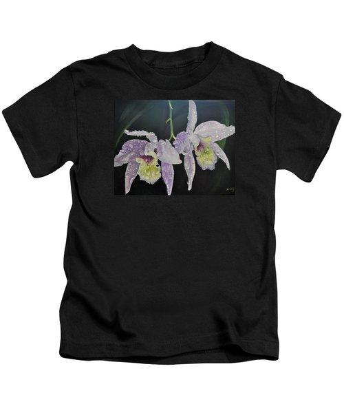 Orchid Jewels Kids T-Shirt