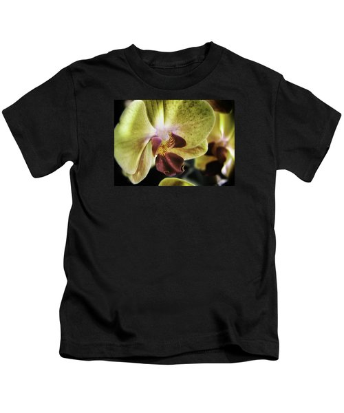 Orchid With A Tongue Kids T-Shirt