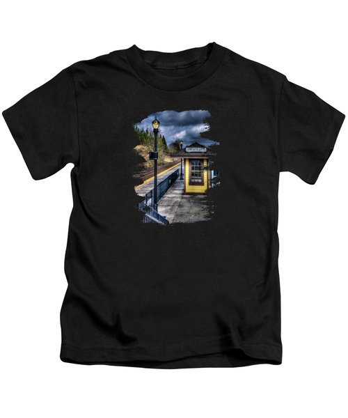 Oregon City Train Depot Kids T-Shirt