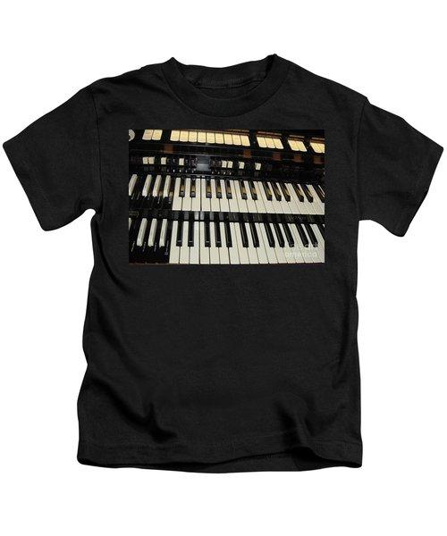 Hammond Organ Keys Kids T-Shirt