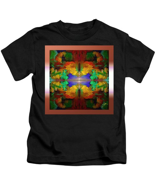 Oriental Gardens  Kids T-Shirt