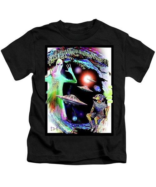Our Fellow Space Citizens Kids T-Shirt