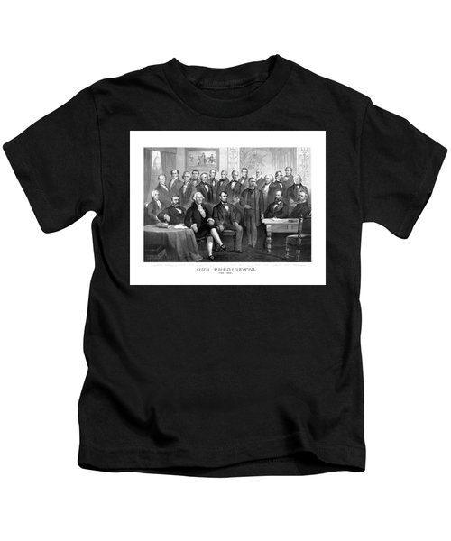 Our Presidents 1789-1881 Kids T-Shirt