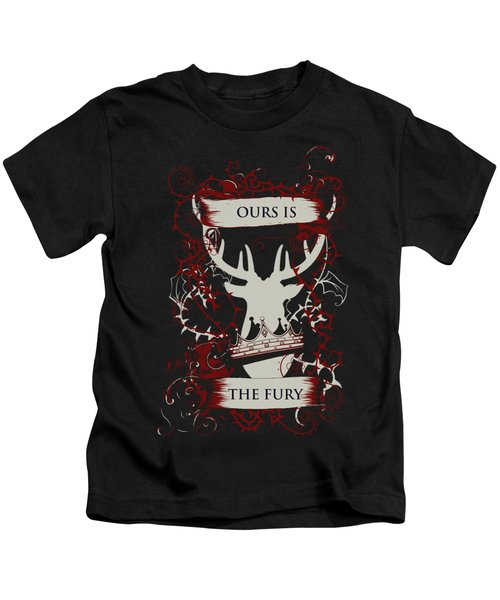 Ours Is The Fury Kids T-Shirt