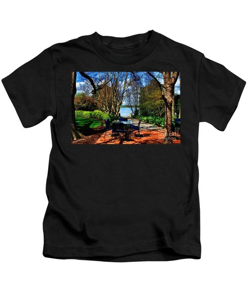 Overlook Cafe Kids T-Shirt
