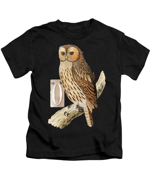 Owl T Shirt Design Kids T-Shirt