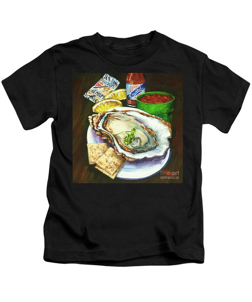 Oyster And Crystal Kids T-Shirt