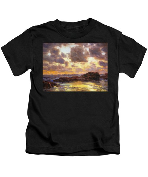 Pacific Clouds Kids T-Shirt