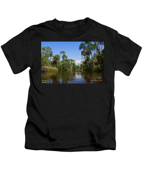 Paddling Otter Creek Kids T-Shirt