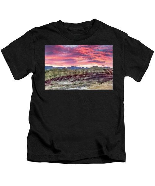 Painted Hills Sunrise Kids T-Shirt