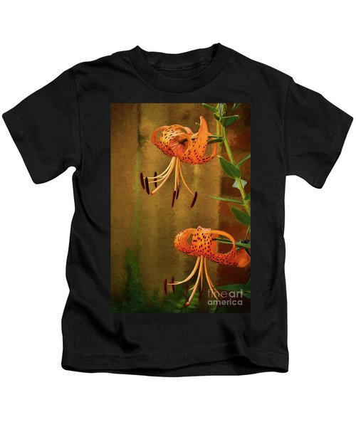 Painted Tigers Kids T-Shirt