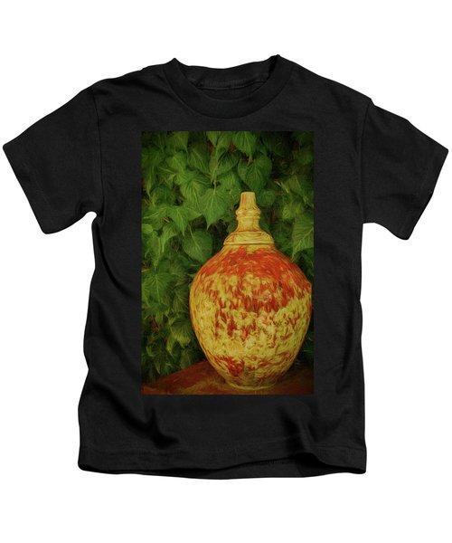 Painted Vase Kids T-Shirt