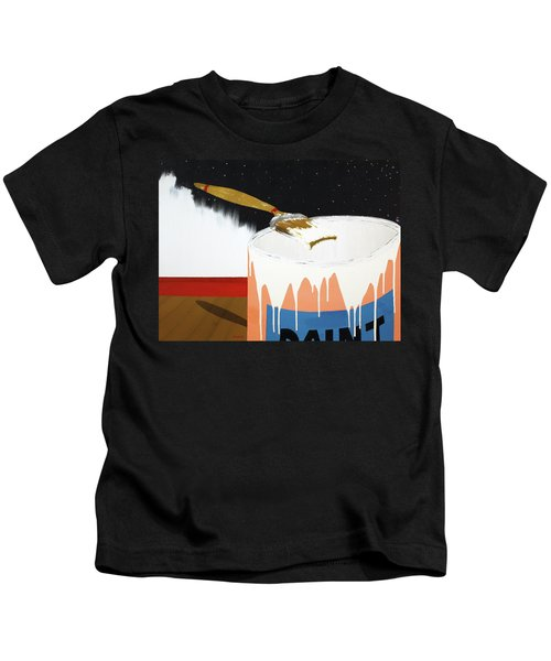 Painting Out The Sky Kids T-Shirt