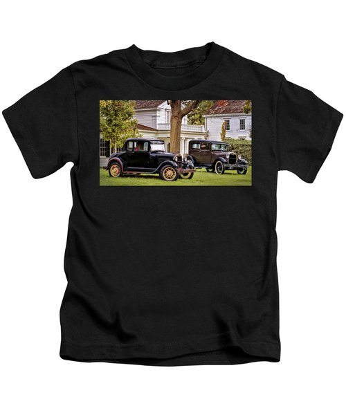 Pair Of Ford Model A  Kids T-Shirt