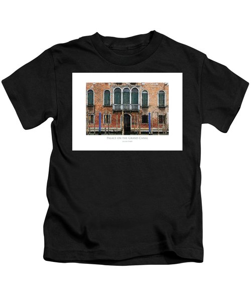 Palace On The Grand Canal Kids T-Shirt