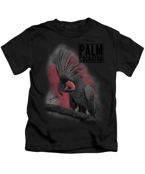 Palm Cockatoo No 01 Kids T-Shirt