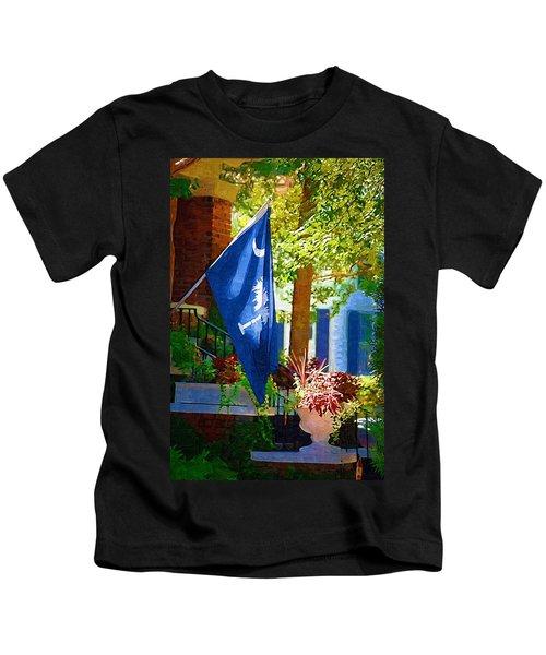 Palmetto Flag Kids T-Shirt