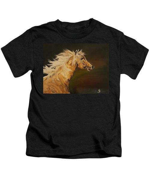 Palomino Running Wild                     85 Kids T-Shirt