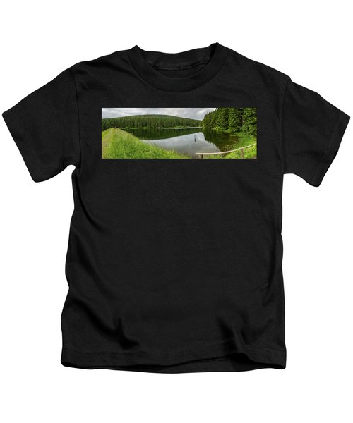 Panorama Liebesbankweg, Harz Kids T-Shirt
