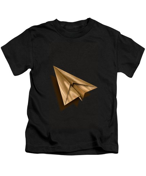 Paper Airplanes Of Wood 1 Kids T-Shirt