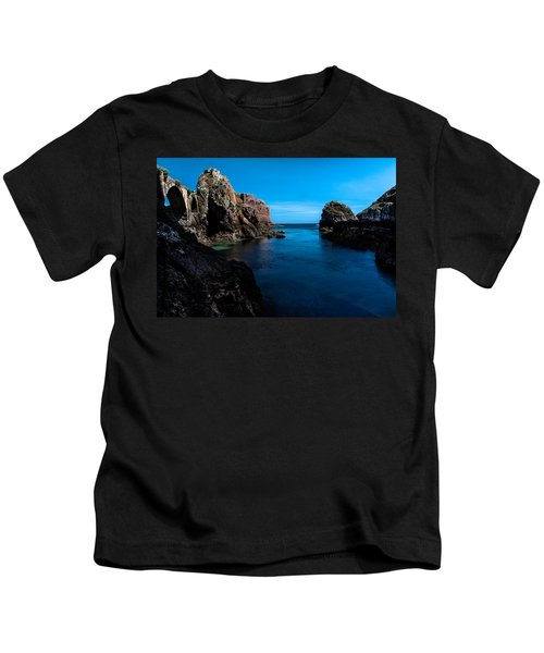Paradise Lost At Sea Kids T-Shirt