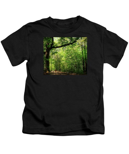 Paris Mountain State Park South Carolina Kids T-Shirt