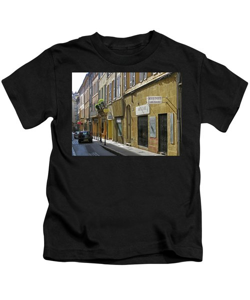 Paris Street Scene Kids T-Shirt