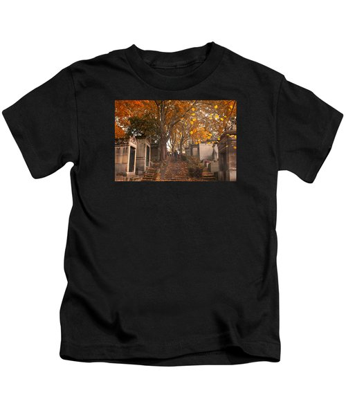 Parisian Fall Kids T-Shirt