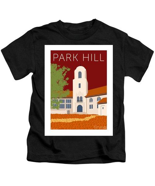 Park Hill Maroon Kids T-Shirt