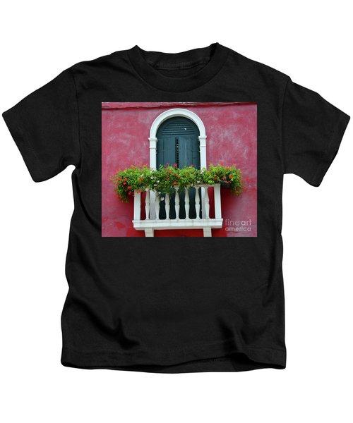 Pastel Colors Of Burano  Kids T-Shirt
