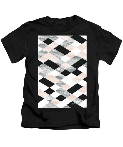 Pastel Scheme Geometry Kids T-Shirt