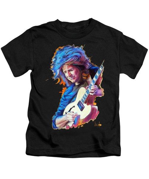Pat Metheny Kids T-Shirt by Melanie D