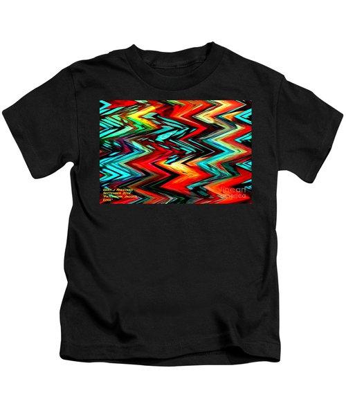 Patchwork Jagged Edge. H A Kids T-Shirt