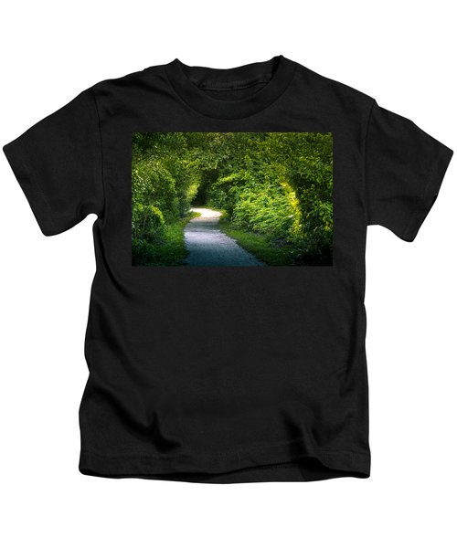 Path To The Secret Garden Kids T-Shirt
