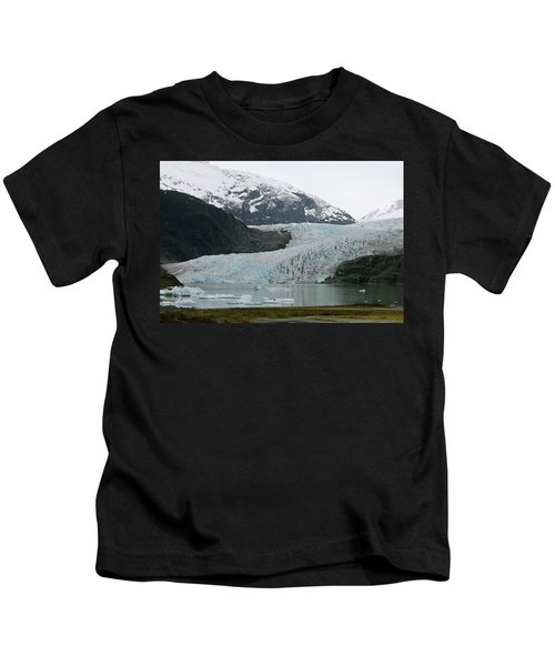 Pathway To An Icy Wonderland Kids T-Shirt