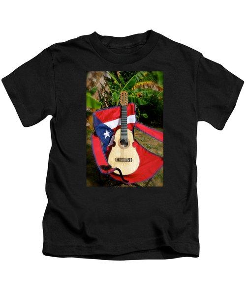 Patriotic Cuatro Kids T-Shirt