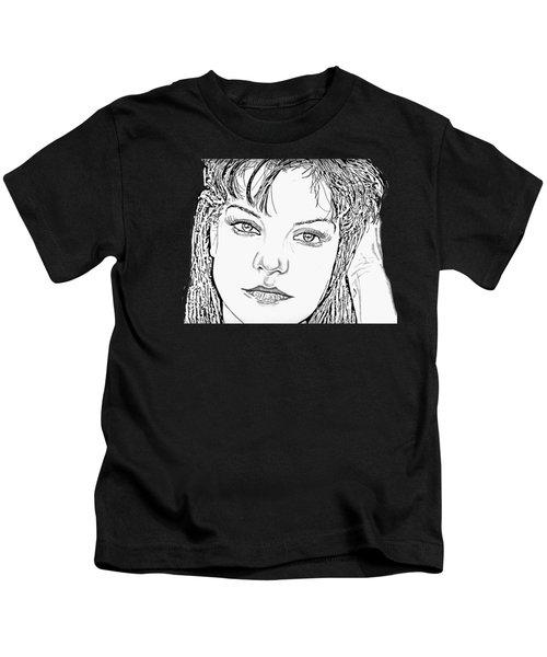 Pauley Perrette Kids T-Shirt