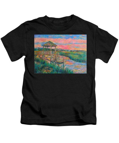 Pawleys Island Atmosphere Stage Two Kids T-Shirt