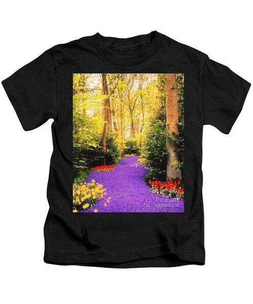 Peace, Like A River Kids T-Shirt