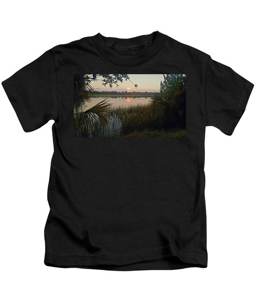 Peaceful Palmettos Kids T-Shirt