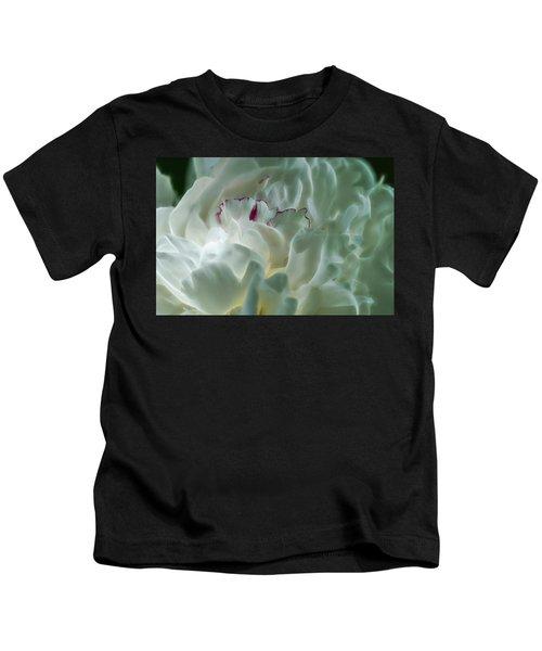 Peony Flower Energy Kids T-Shirt