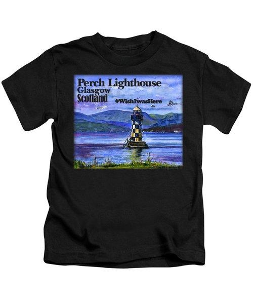 Perch Lighthouse Scotland Shirt Kids T-Shirt