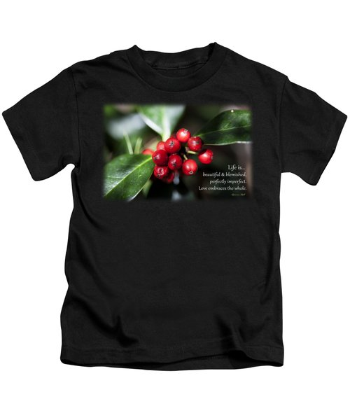 Perfectly Imperfect Kids T-Shirt