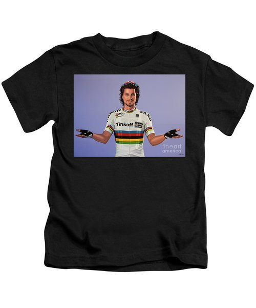 Peter Sagan Painting Kids T-Shirt
