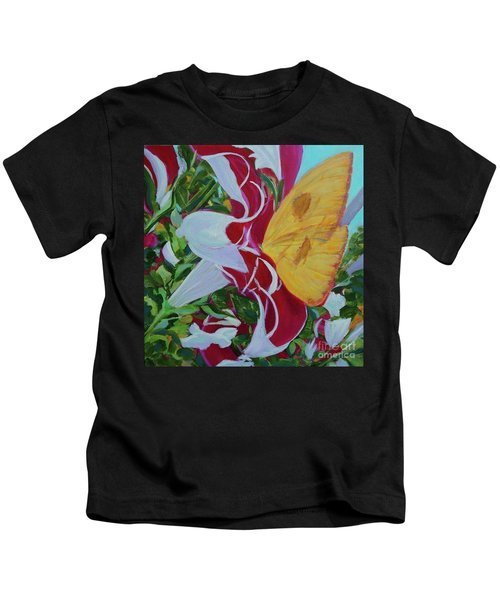 Petunias Kids T-Shirt