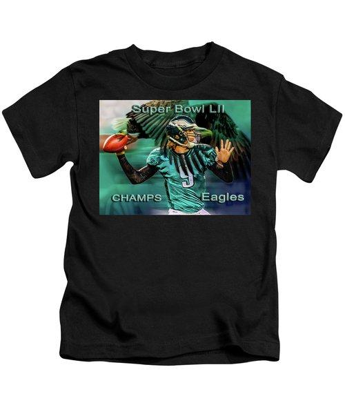 Philadelphia Eagles - Super Bowl Champs Kids T-Shirt
