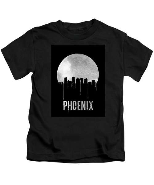 Phoenix Skyline Black Kids T-Shirt