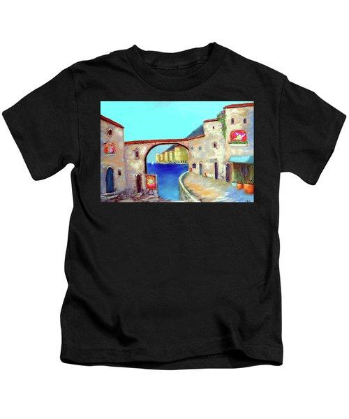 Piazza Del La Artista Kids T-Shirt